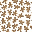 Gingerbread background — Stock Photo