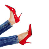 Sexy Red Shoes — Stock Photo
