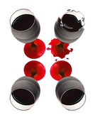 Cup of wine — Stock Photo
