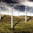 Wind turbines — Stock Photo #4940011