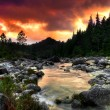 Mountain River - Foto Stock
