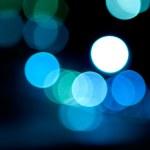 blured lampor — Stockfoto