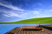 Beautiful outdoor space — Stock Photo