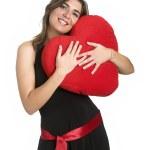 Heart Woman — Stock Photo
