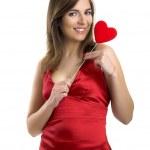Valentine woman — Stock Photo #5063519