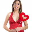 Valentine woman — Stock Photo #5063535