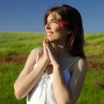 Beautiful young woman — Stock Photo #5064026