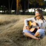 Playing guitar — Stock Photo #5064157