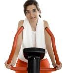 Gym exercise — Stock Photo #5064524