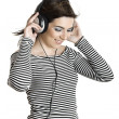 Listening music — Stock Photo #5064653