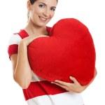 Valentine woman — Stock Photo #5065323
