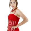 Woman in red — Stock Photo #5067908