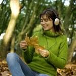 Listening Music — Stock Photo #5068139