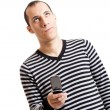 Young guy with cellphone — Stock Photo #5069923