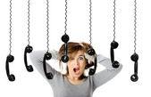 Telephone Stress — Stock Photo