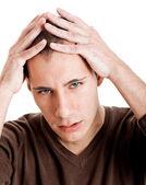 головная боль — Стоковое фото