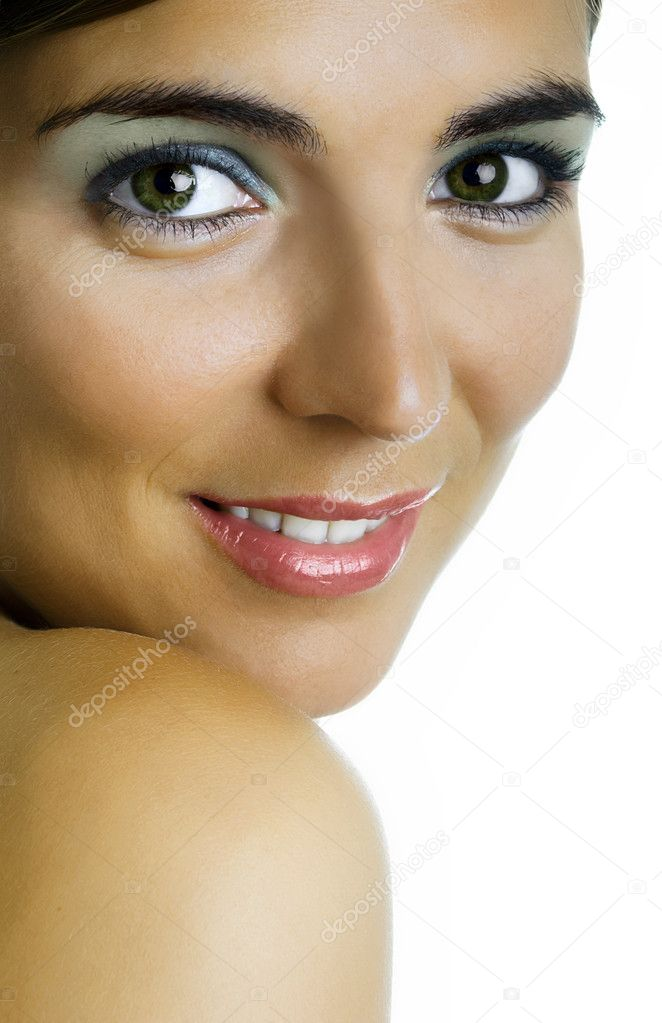 Beautiful woman portrait with a great make-up — Stock Photo #5063392