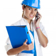 Female technician - Stock Photo