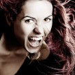 Vampire woman - Stock Photo