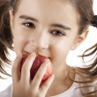 Eating an Apple — Stock Photo #5072991