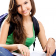 Happy female student — Stock Photo #5073219