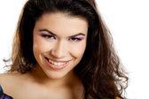 Mulher jovem feliz — Fotografia Stock