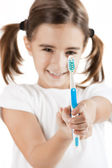 Oral Hygiene — Stock Photo