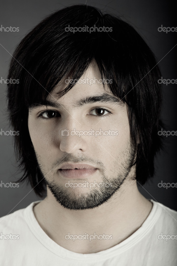 Picture of Good looking  young man portrait  Stock Photo #5074334