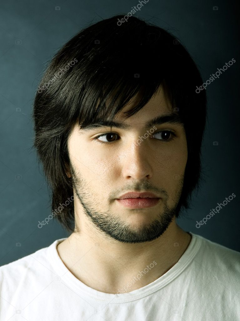 Picture of Good looking  young man portrait  — Stock Photo #5074335