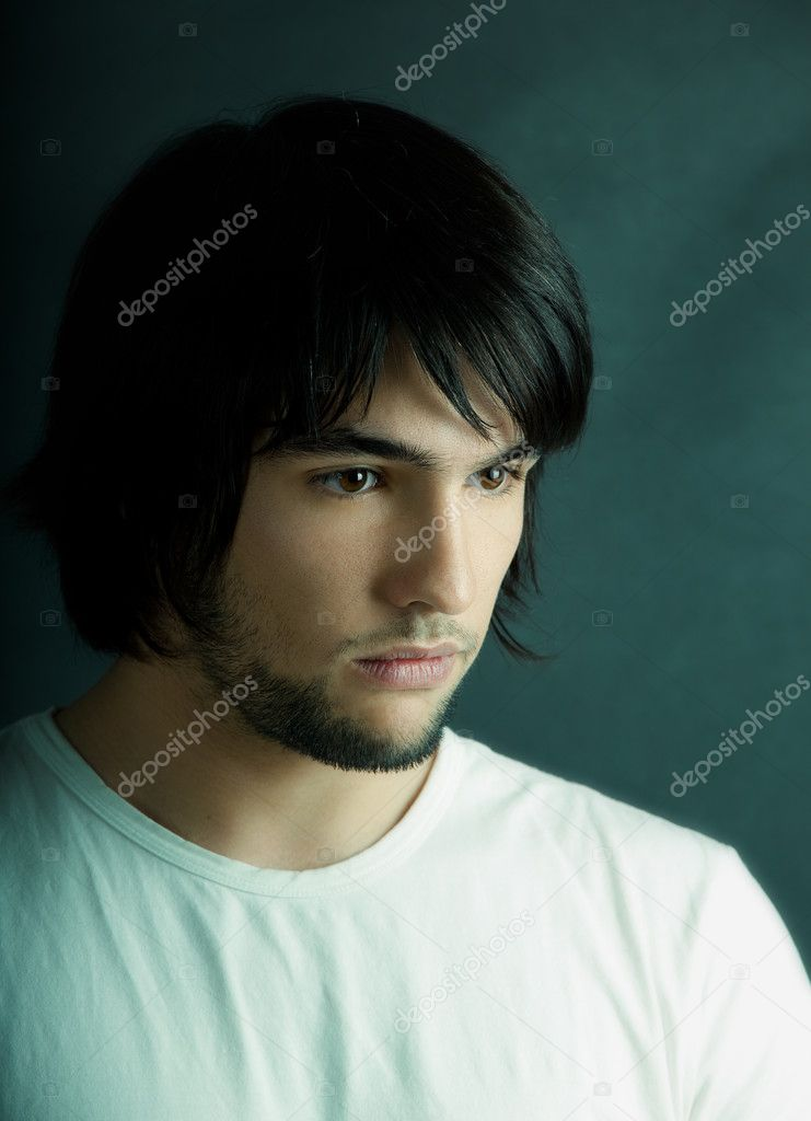 Picture of Good looking  young man portrait — Stock Photo #5074337