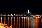 Light of city night — Stock Photo