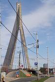 The vantannyj bridge in Riga — Stock Photo