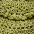 Knitting pattern - Stock Photo
