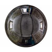 Mirror ball abandoned interior — Stock Photo