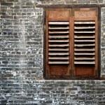 Classic window — Stock Photo