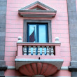 Window and balcony — Stock Photo
