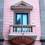 Window and balcony — Stock Photo