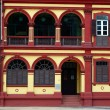 Preserved colonial house, Macau — Stock Photo