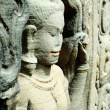 Sculptured apsara, Siem Reap, Cambodia — Stock Photo