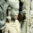 Sculptured apsara, Siem Reap, Cambodia — Stock Photo #2848982