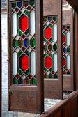 Column of windows — Stock Photo