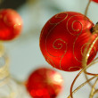 Red christmas bulbs — Stock Photo #2857593