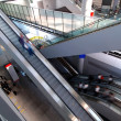 Escalators in airport — ストック写真