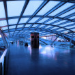 Stock Photo: Architecture of modern train station