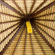 Stock Photo: Hut ceiling