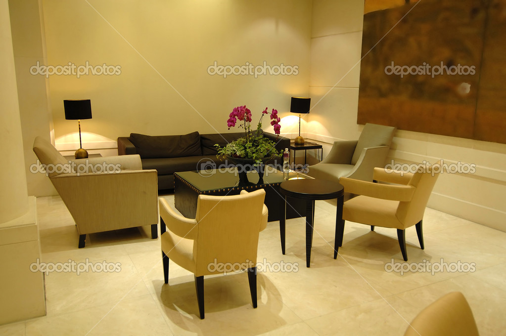 The environment of lobby in a hotel — Stock Photo #2866511