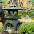 Granite lantern - Stock Photo