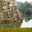 Stock Photo: Moat at Nijo Castle