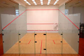 Squash court — Stock Photo