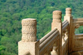 Handrail of pagoda — Stock Photo